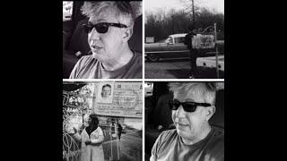 UNSEEN Elvis Presley photos LEAVING SECRET side Exit of Graceland 1961 ? in Pink Cadillac T-bird