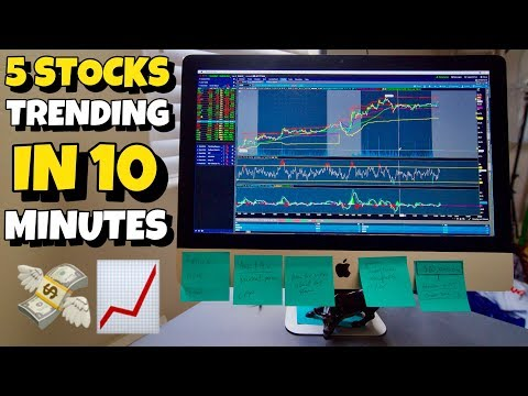 Top 5 Stocks Trending In 10 Minutes   Trading 101