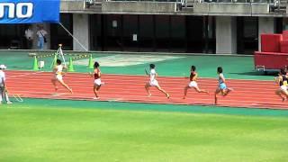 2011日本学生陸上 男子4x400mR決勝.AVI