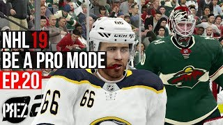 NHL 19 Be A Pro Mode - WE BASH BROTHER HIM!!! Ep.20 (Xbox One X)