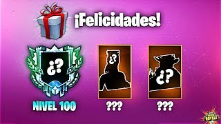 REGALO SECRETO (35 Niveles GRATIS y Nivel 100!) - Fortnite