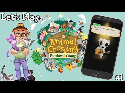 Let's Play: Animal Crossing Pocket Camp (Ep. 1)