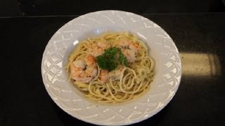 Spaghetti Squash & Shrimp Recipe : Delicious Dishes