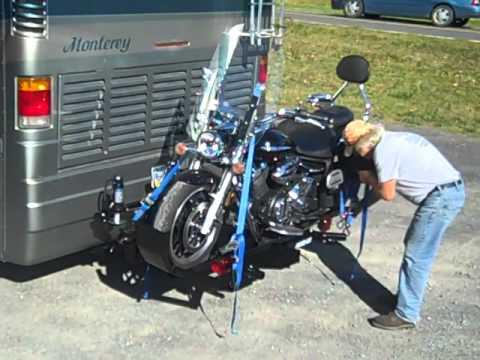 Hydralift Motorcycle Lift 2 Motorhomes Wohnmobile