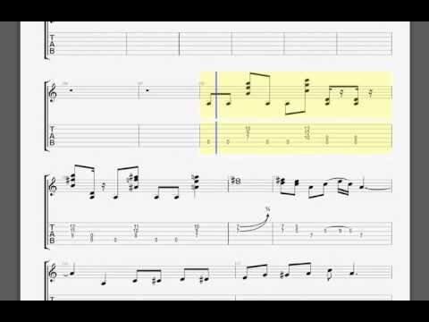 Metallica   Killing Time Kirk guitar tablature