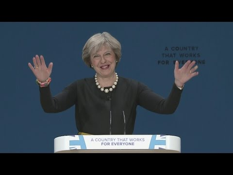 FULL SPEECH: Theresa May announces Brexit plan at Conservative Party conference