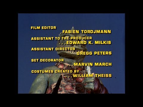 Star Trek: The Original Series Season 1 - Closing Credits (1966)