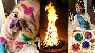 How I Celebrated Holi? #DIML | MyMissAnand