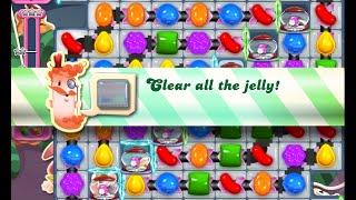 Candy Crush Saga Level 1298 walkthrough (no boosters)