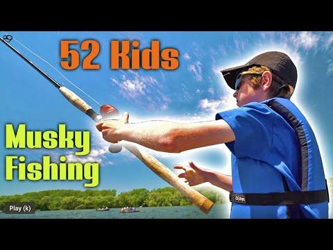 52 KIDS Musky Fishing!! - 2019 Capital City Muskies Inc. Youth Tournament