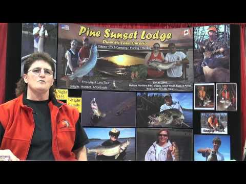 Trophy Fishing in Ontario's Sunset Country at the All Canada Sport Show - Pine Sunset Lodge