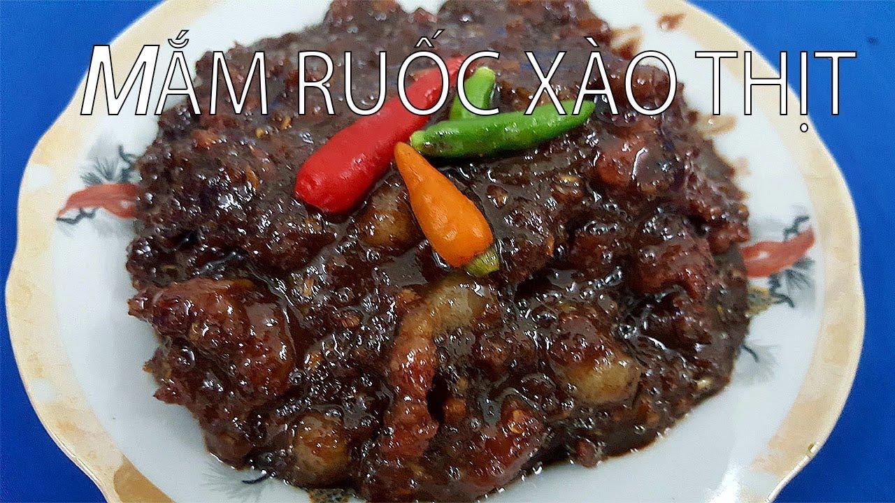 Cách làm MẮM RUỐC XÀO THỊT SẢ ỚT ngon rất dễ ăn cơm – Hồng Thanh Food