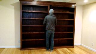 Sliding Bookcase/hidden Door