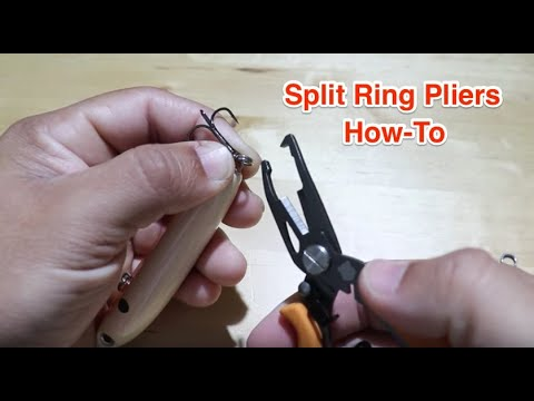 Split Ring Pliers: The Quick & Easy Way To Replace Treble Hooks