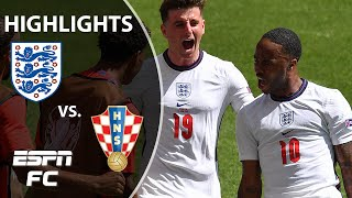 Raheem Sterling scores as England starts Euro 2020 with a win vs. Croatia | Highlights | ESPN FC