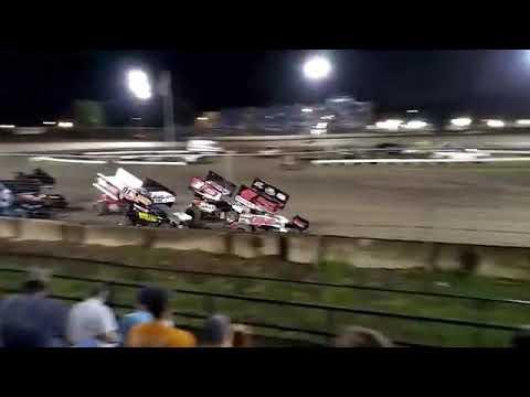 Riverside Speedway Sprint Feature 8/17/2019