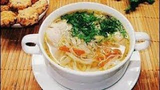 Суп с вермишелью супер вкусный