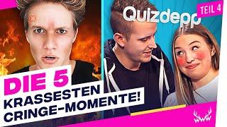 Die 5 KRASSESTEN Cringe-Momente auf YouTube! - Teil 4 | TOP 5