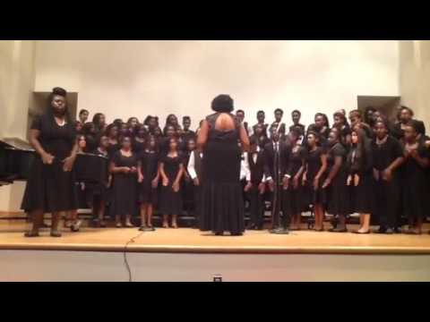 Johnnie Carr Middle choir concert pt 2 May 2016