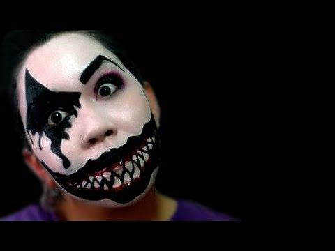 Maquillaje de Disfraces 12: Arlequín Maligno - Astharte Estilismo ...