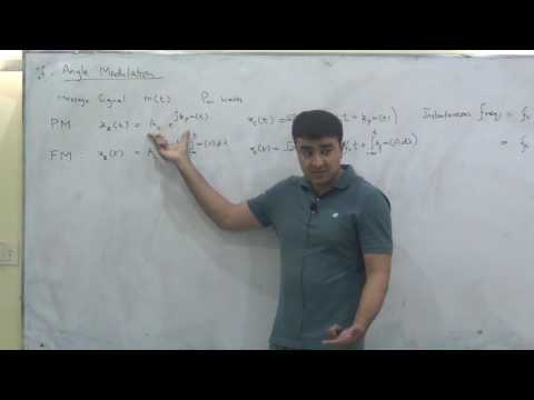Transmission bandwidth of phase and frequency modulation, Communication Systems Lec 16/19