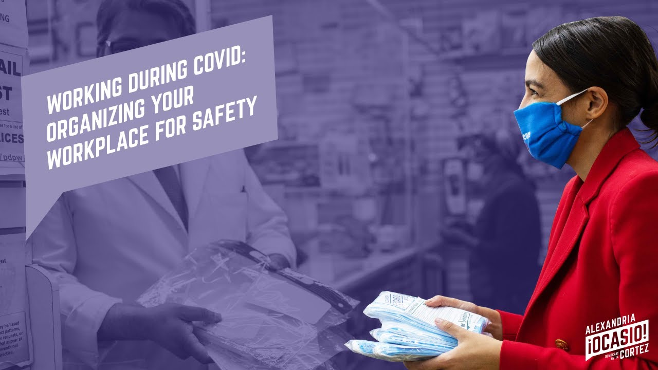 Working During COVID: Organizing Your Workplace for Safety