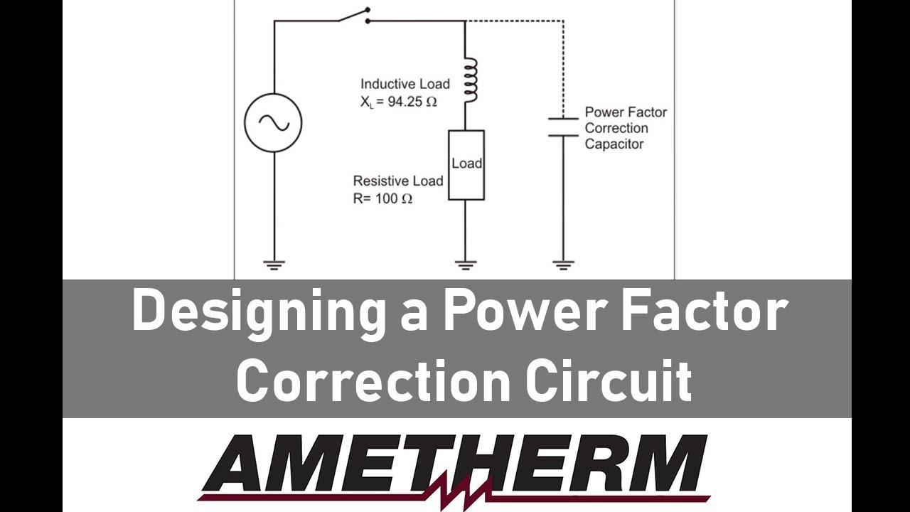 Power Factor Controller Circuit Diagram | Designing A Power Factor Correction Circuit Youtube