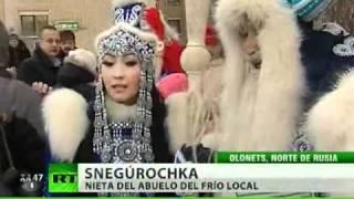 Los Abuelos del Frío compiten para ver quién es el mejor de Rusia
