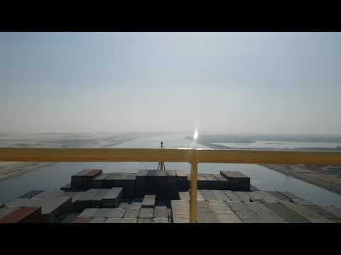 Suez Canal Transit Timelapse