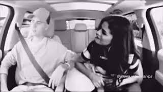 WOW!! Justin Bieber and Selena Gomez Carpool Karaoke