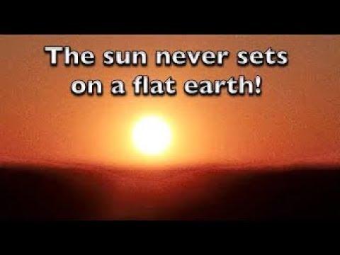 Shrinking Sun over the Flat Earth   Traveling 150 km West Across Saskatchewan