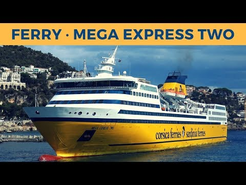 Arrival, loading & departure of ferry MEGA EXPRESS TWO in Ni