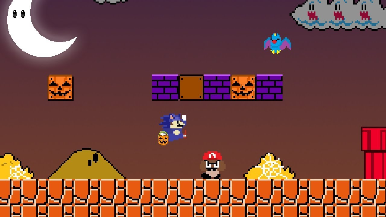 Mario goes Trick-or-Treating – Level UP 2018 Halloween Special