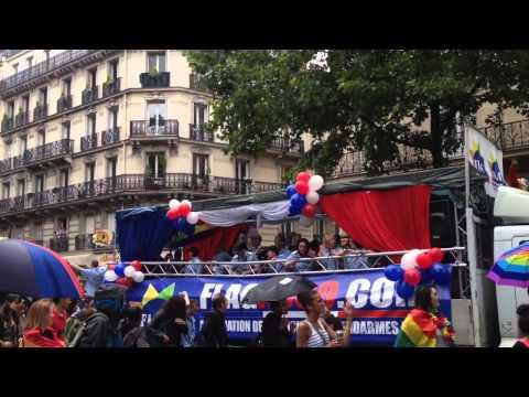 Paris Pride Parade - June 28, 2014