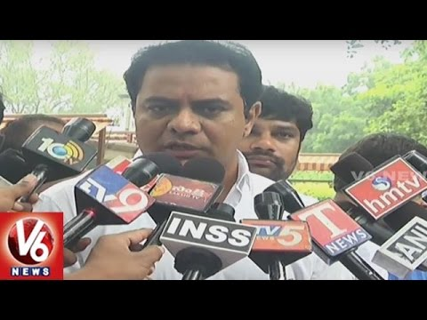 Minister KTR On Central Govt's Regional Connectivity Scheme | New Delhi | V6 News