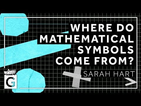 Where do Mathematical Symbols Come From? | 10 May 2021