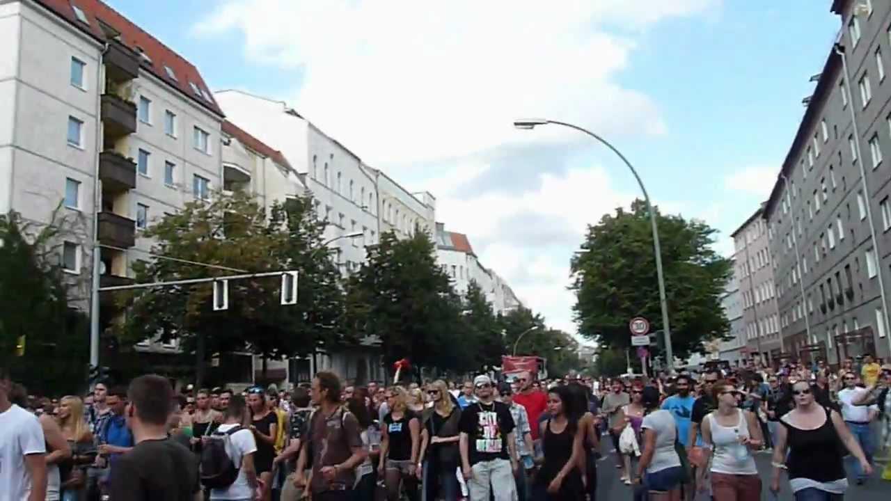 Techno Rave Dance Parade - Berlin, Germany