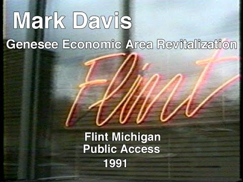 Davis talks about what attracts people to Flint