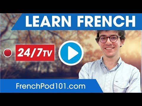 Learn French 24/7 with FrenchPod101 TV