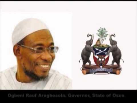 Osun State Welcomes President Muhammadu Buhari