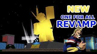 *NEW* One For All Revamp (United States Of Smash) | Boku No Roblox: Remastered [Codes]