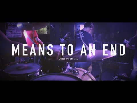 De Wallen - Means to an end   Live at Kranked Up