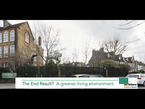 """""""Cleaner, safer air"""" at London school with Mobilane Green Screens"""