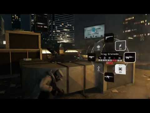 Watch Dogs - The Rat's Lair: Chase Defalt Rooftop Fixer Battle, U-100, ATSG-12 & AC-AR Action PS4