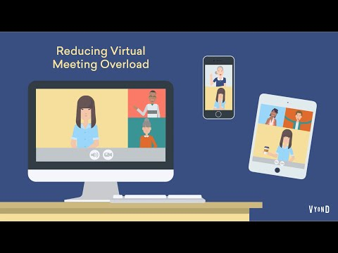 Mental Health in the Workplace | Reducing virtual meeting overload