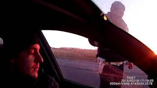 Жёсткий разгон двоих гаишников(Одесса)(, 2015-02-19T20:10:39.000Z)