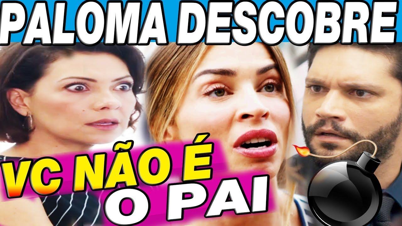 PALOMA ACUSADA APÓS DESCOBRIR SEGREDO DE NANA TRAIÇÃO VERDADEIRO PAI DO BEBÊ BOM SUCESSO
