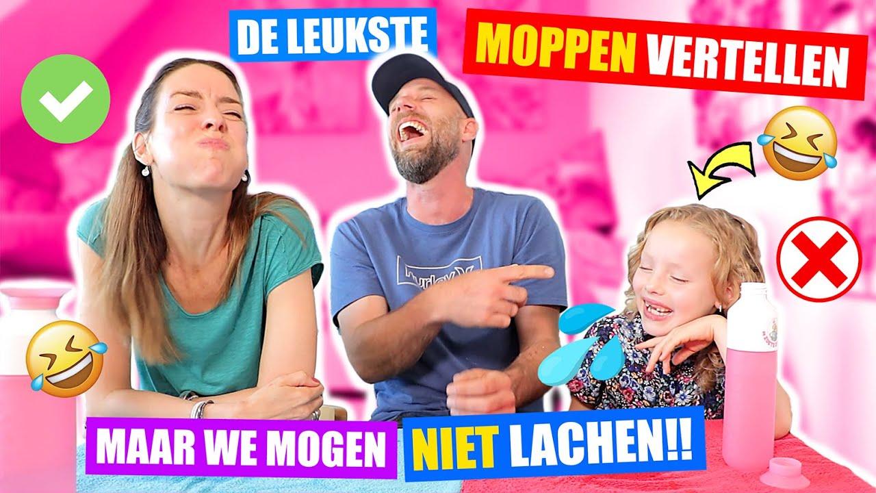 Download TRY NOT TO LAUGH - MOPPEN CHALLENGE!! [Het Zoete Zusjes Moppenboekje] ♥DeZoeteZusjes♥
