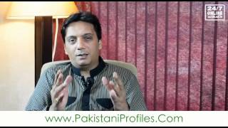 Pakistani Profiles - Faisal Qazi - Part Three