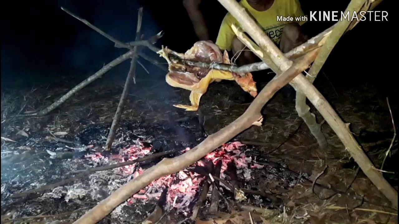 Ẩm thực đêm khuya /gà nướng muối ớt..